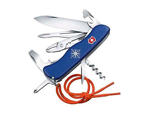Victorinox Taschenmesser Skipper mit Nylonkordel (17 Funktionen, Feststellklinge mit Wellenschliff,...