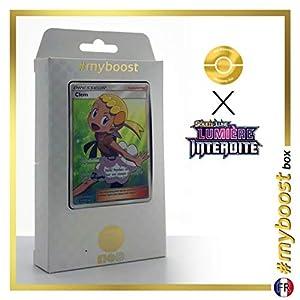 Clem 128/131 Entrenadore Full Art - #myboost X Soleil & Lune 6 Lumière Interdite - Box de 10 Cartas Pokémon Francés