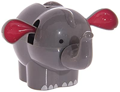 Flying Elephant: Solar Powered Novelty Toy - wiggles/dances in sunlight