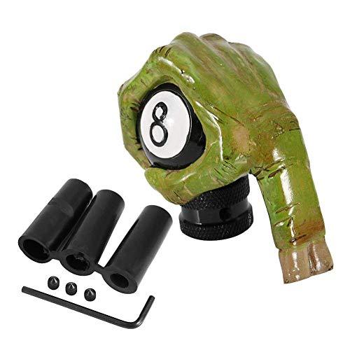 Outbit Schaltknauf - Skeleton Hand Skull 8 Ball Auto Schaltknauf Schalthebel Universal