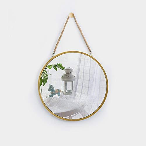 Espejo Colgante Minimalista Moderno Hierro Forjado