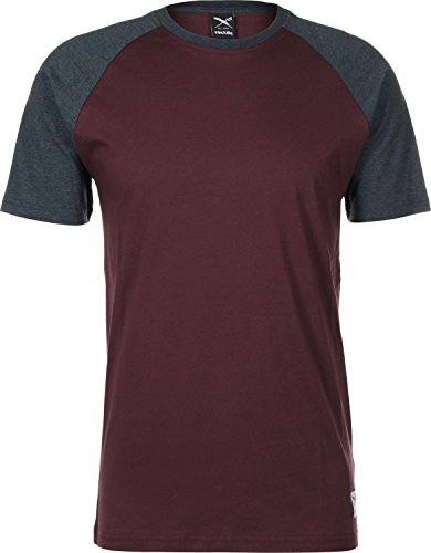 Iriedaily Rugged T-Shirt Rot Blau