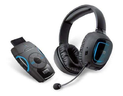 Galleria fotografica Creative Labs Sound Blaster Recon3D Omega Binaural Ear-hook Black headset - Headsets (PC/Gaming, Binaural, Ear-hook, Black, Wireless, Circumaural)