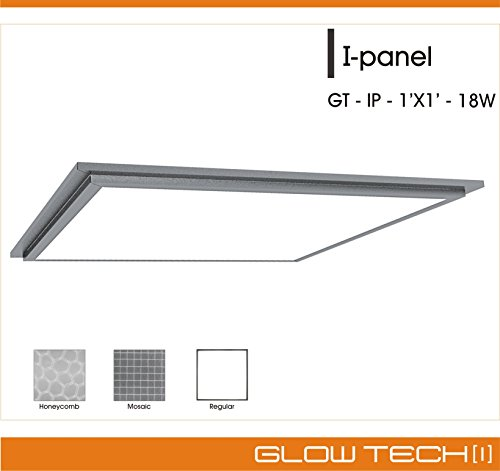 Edge Lit Panel Ceiling Light 1X1 feet by Glow Tech [1]