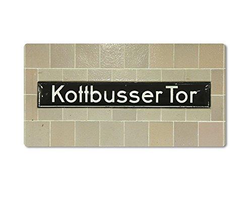 Magnet / Kühlschrankmagnet Nr8055 von tom bäcker - BERLIN ++ KOTTBUSSER TOR ++ U-Bahnhof - U-Bahn-Station - U8 - U1