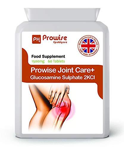 Glucosamina Solfato 2KCL 1500 mg 60 compresse - veloce assorbimento mirati di sostegno per articolazioni e della cartilagine Salute - Regno Unito Fabbricato a più alti standard