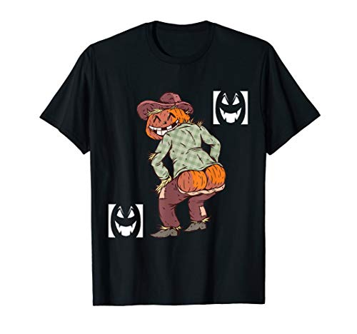 Halloween,Vogelscheuche Pumpkin Ass,Humor Shirt