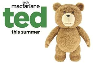 Ted Parlant – L'ours en peluche qui parle (UK IMPORT en Anglais)- Officiel du Film TED de Seth MacFarlane - 20 cm