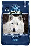 Blau Buffalo Wilderness High Protein Trockenfutter Senior Hund