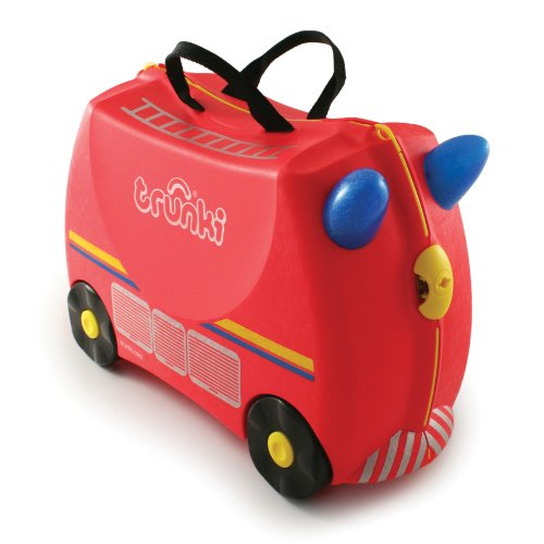 Trunki Ride-on Suitcase - Freddie the Fire Engine (Red)