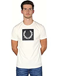 Fred Perry Printed Laurel Wreath Tee Shirt M3601