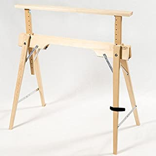 Tischbock Höhenverstellbar klappbock hohenverstellbar holz heimwerker markt de