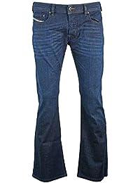 Diesel Zathan Mid Indigo Bootcut Jeans