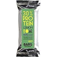 Push Bars 30% Protein Bar 15x baritas proteicas (40g), Crunchy Chocolate Energy Made artesanalmente with 30% Protein for Athletes, Flavour Yogurt
