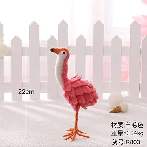 ristmas Dekorationen Desktop Weihnachtsschmuck Mini Christmas Tree Weihnachtsmann Christmas Snowman Ornaments Anhänger, Flamingo Trompete ()