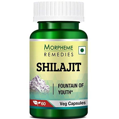 Morpheme Remedies Shilajit 500 mg - 60 Veg Capsules