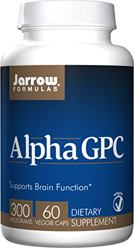 Jarrow Formulas - Alpha GPC 300mg - Confezione da 60 Capsule Vegetali