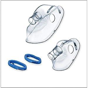 Beurer IH 60 / 58 Yearpack, Zubehör zum Inhalator mit DC-Kompressor-Druckluft-Technologie, desinfektionsfähig, Mund- und Nasenstück, Vernebler