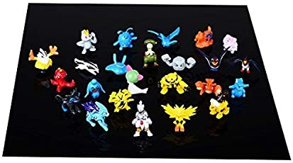 LEMESO LIHAO 24 Pokemon Figuren Set Pocket Monsters Mini Figuren