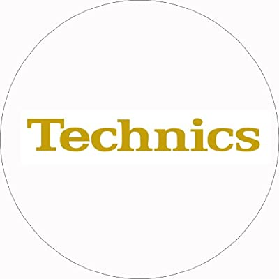 Technics DMC Turntable Slipmats (1 Pair) - White/Gold