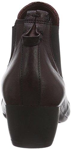 Think - Glass Chelsea Boot, Stivaletti Donna Rosso (Rot (CHIANTI/KOMBI 35))
