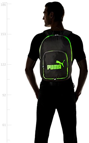Puma Unisex Phase Backpack Rucksack Green Gecko/ Black