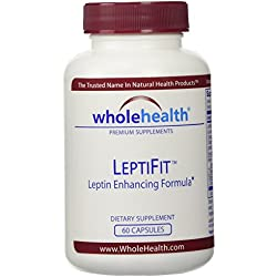 Wholehealth Leptifit Mit Leptin-Erhöhender Formulierung, 60 Kapseln