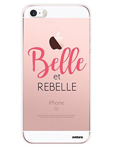 Emmy Case By evetane Hartschale Transparent für iPhone 5und iPhone 5s [Collection Humor] Belle