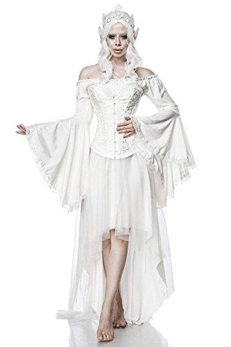 Sexy Elf Queen Kostüm Elfen Damen Kleid Karneval Fasching Damen Elfenkostüm ()
