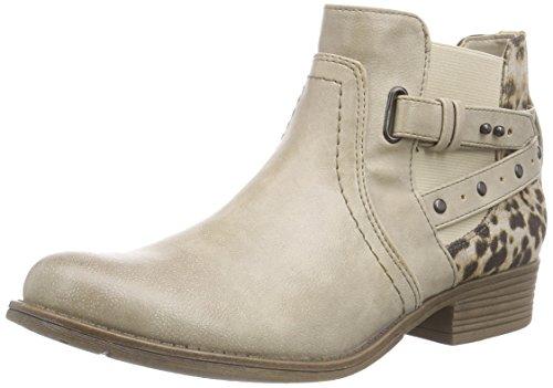 Mustang Damen Chelsea Boots Beige (243 ivory)