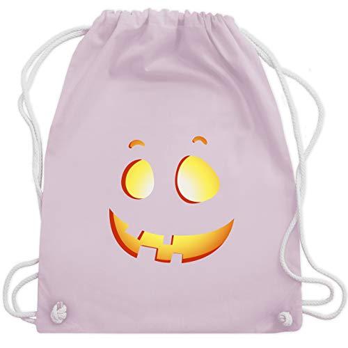 Halloween - süßer Halloween-Kuerbis Kinder - Unisize - Pastell Rosa - WM110 - Turnbeutel & Gym Bag (Halloween Kostüme Ideen Für Kids 2019)