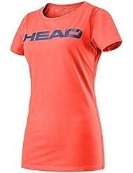 Testa da donna transizione Lucy II t-shirt, donna, Transition Lucy Ii, Coral/Navy, L