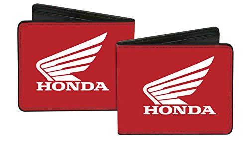 honda-automobile-company-red-motorcycle-wings-logo-bi-fold-wallet