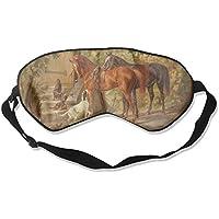 Sleep Eye Mask Animals Horses Dogs Lightweight Soft Blindfold Adjustable Head Strap Eyeshade Travel Eyepatch preisvergleich bei billige-tabletten.eu