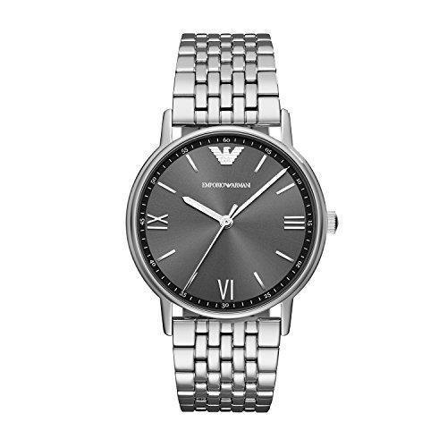 Emporio Armani Herren Quarz Uhr mit Edelstahl Armband AR11068