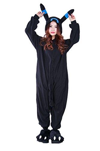 engerla Lounge Wear Weihnachten anime blau Umbreon Cosplay Schlafanzug Pyjama Tier Erwachsene Kostüme Hoodie