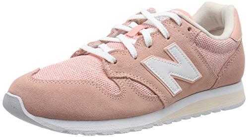 New Balance Damen WL520TLC Sneaker, Weiß (White Peach/Pink Mist TLC), 40 EU