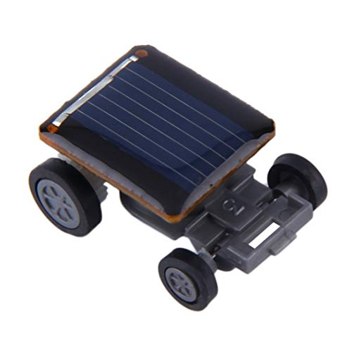 WEIHAN Mini Original Solarbetriebene Rennwagen Fahrzeug Energie sparen Erstaunlich Pädagogisches Gadget Kinder Kinder Geschenk - Solar Power Kostüm