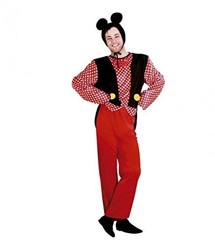 Imagen de disfraz de ratón para hombre talla standar m l = 52 54