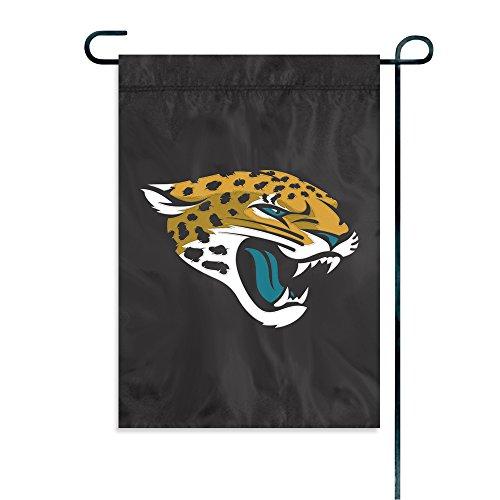 Jaguar Flagge (Party Animal Offiziell lizenzierte NFL Garten Flaggen, damen Kinder Herren unisex, Jacksonville Jaguars)