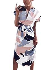 vestidos verano mujer cortos, Sannysis faldas de fiesta para bodas cortos