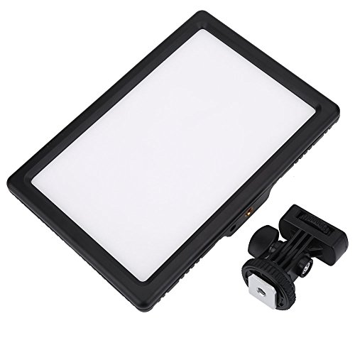 Acouto Ultradünne Einstellbare Farbtemperatur Video Fotografie LED Fülllicht Lampe für DSLR Kamera