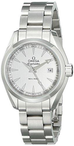 Omega donna-Orologio da polso al quarzo in acciaio inox 23110306002001