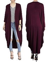 Gaoxu Europa y los Estados Unidos de moda femenina y un manto de Bat,Un clarete,M