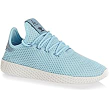 get cheap ef2ad 15055 adidas Pharrell Williams Tennis HU Bambina Sneaker Blu