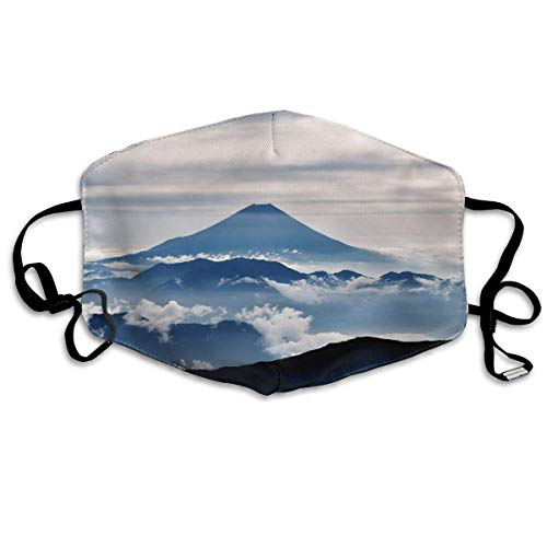 itruty Mount Landscape Unisex Anti-Dust Mouth Mask Face Mask,Anti Bacterial Washable,Reusable Maske Warm Windproof Mask Fashion Outdoor Mund Maske with Design -