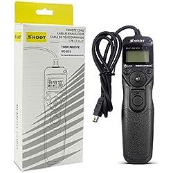 pour Shoot MC-DC2 Déclencheur à Distance MC/TC pour appareils Photo Reflex numériques Nikon D3100 D7000 D7100 D90 D600 D3200 D5000 JBP-X