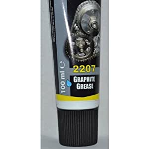 GRAPHITE GREASE 2207 LUBRICANT FOR SPLINED & SCREWED JOINTS GEARS GATES High Quality 100ml NEW