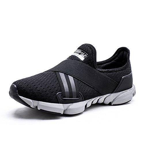 545318c98f633f ZOEASHLEY Herren Laufschuhe Sneakers Leicht Ohne Schnürsenkel Slip on  Turnschuhe Outdoor Running Schuhe Gr.38