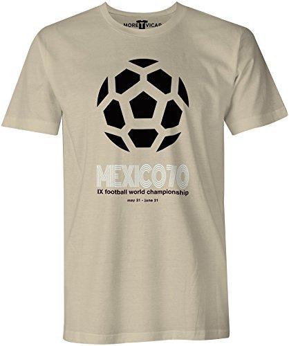 Mexico 70 - Fußball-Weltmeisterschaft - Herren T Shirt Sand